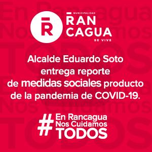 Rancagua en campaña contra Covid-19