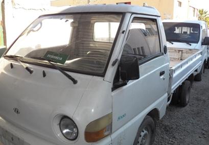 Carabineros recupera cuatro camiones robados en la Región Metropolitana