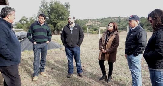 Seremi de Agricultura estrecha lazos  con organismo internacional para el Secano de la Región de O´Higgins