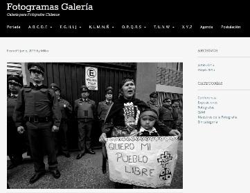 30 fotógrafos chilenos ya forman parte de nueva galería virtual Fotogramas