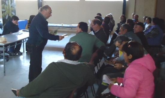 CONAF realiza charlas educativas sobre arbolado urbano en tres comunas de la provincia Cardenal Caro