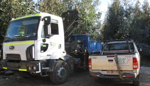 Carabineros de Rengo recuperan vehículos y especies robadas desde empresa de Requínoa