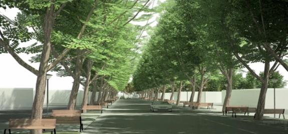 Calle Irarrázabal de Machalí se transformará en paseo peatonal y vehicular