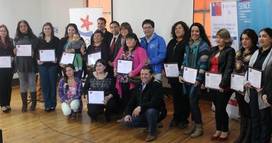 Emprendedoras pichileminas se certifican en curso de SENCE y Desafío Levantemos Chile