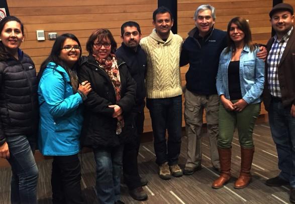 Delegación regional de O'Higgins estuvo presente en Encuentro Nacional de turismo en Castro