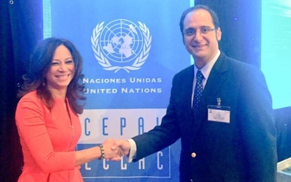 Diputado Kort y Presidenta del Parlamento de Aruba Marisol Lo_pez-Tromp 2