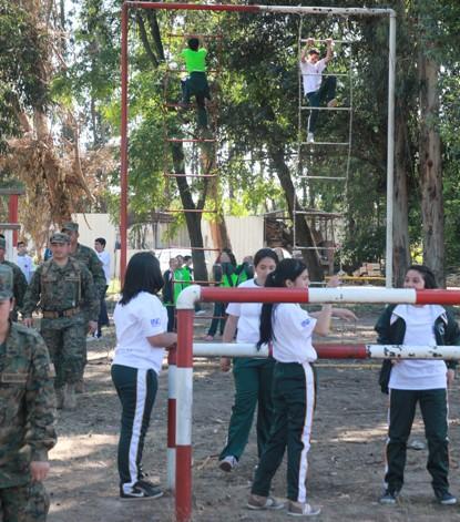 Actividades deportivas podrán ser realizadas en recintos de Fuerzas Armadas y de Orden y Seguridad