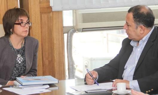 Alcalde Segovia e Intendenta Núñez discuten proyectos de desarrollo para Graneros