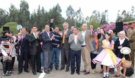3 kilómetros de camino fueron inaugurados en la comuna de Pichilemu