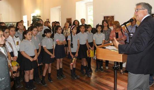 Inauguran exposición inspirada en la vida y legado artístico de Mozart en Rancagua