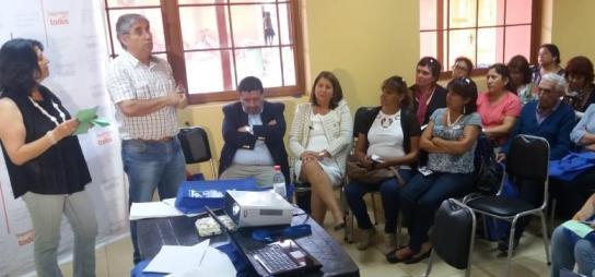 En Malloa vecinos dialogaron en torno a descentralización y seguridad pública