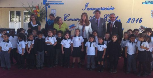 Escuela El Sauce e Instituto Cardenal Caro mejorarán infraestructura con fondos del MINEDUC
