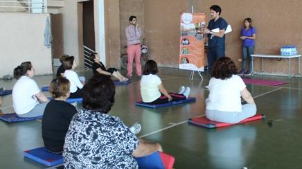 Adultos mayores de Rancagua aprenden sobre los beneficios del deporte en entretenida jornada