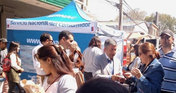 SERNAC entregó información en fiesta de la vendimia de Santa Cruz