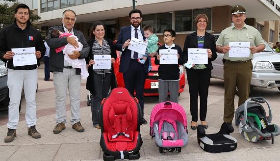 Aumentan exigencias para el traslado de niñas y niños en vehículos livianos