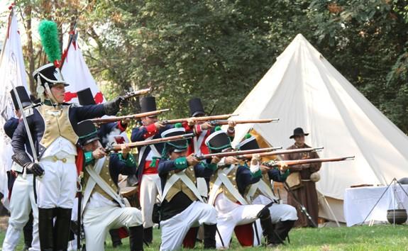 Mostazalinos disfrutaron recreación de histórica batalla de la independencia