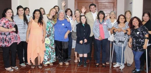 Reconocen a dirigentes mujeres de organizaciones de y para personas en situación de discapacidad