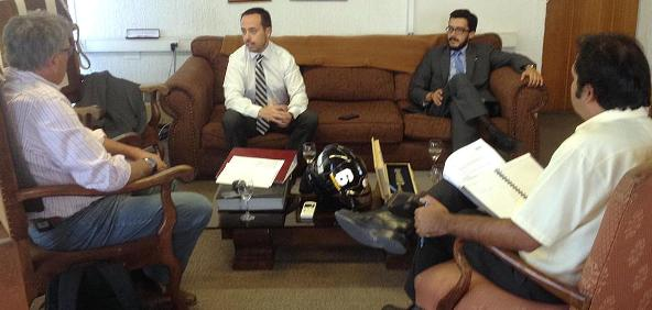 Alcalde de Rancagua se reunió con encargados de  nueva unidad de análisis criminal y focos investigativos