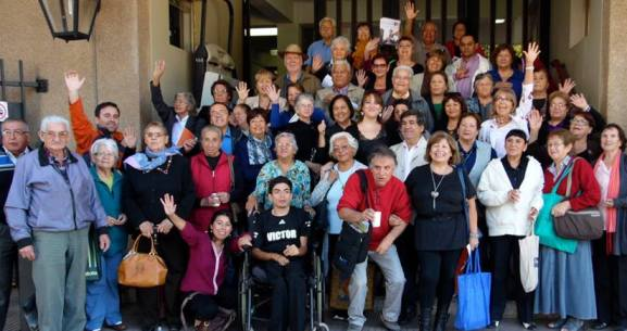 Dirigentes mayores de Rancagua participan en  jornada de capacitación organizada por SENAMA O'Higgins