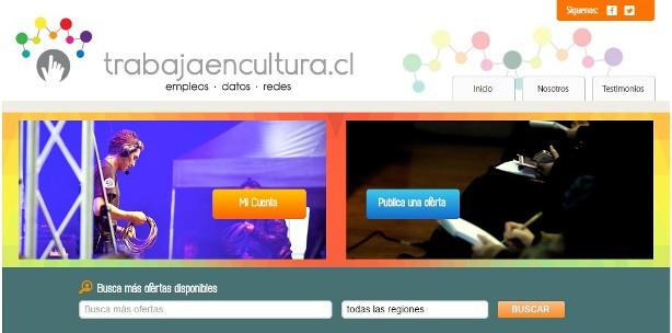 Gracias a los fondos del Consejo de la Cultura lanzan el primer portal de empleos culturales