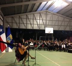 Multicancha de Lo Cartagena se convertirá en gimnasio para la comunidad