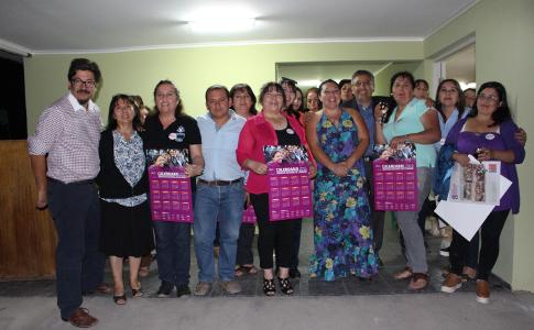 Población Santa Victoria inaugura remozada sede social