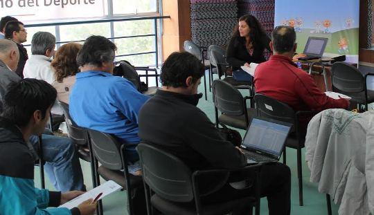 Profesores a cargo de especializaciones EDI recibieron capacitación del Ministerio del Deporte
