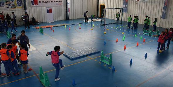 Los Juegos Predeportivos Escolares vivieron su primera fecha en San Vicente