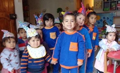 Niños de Jardín Infantil del Hospital Santa Cruz realizaron actividades de Semana Santa