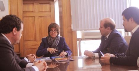 Bomberos de Rancagua se reúne con Intendenta (s) de la Región de O'Higgins