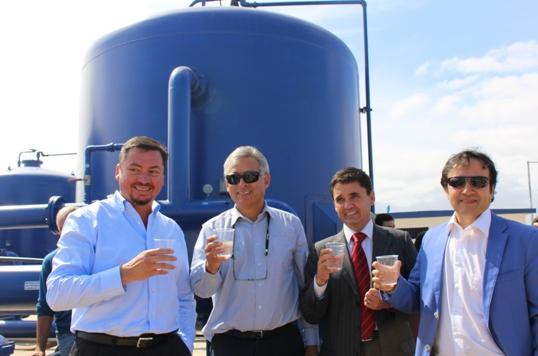 Nueva planta de agua potable abastecerá a gran parte de la comuna de Paredones