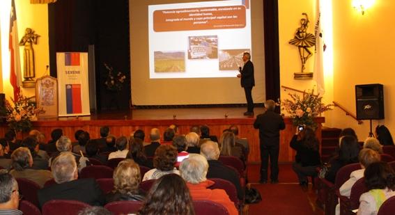 Exitosa cuenta pública entregó el MOP en la comuna de San Vicente
