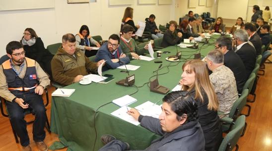 COE Regional se reunió para analizar situaciones de emergencia que afectarían a la región