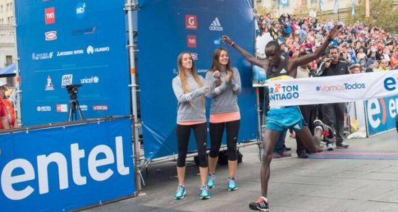 Kenia dominó el Entel Maratón de Santiago 2016