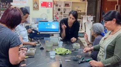 Nodo de Orfebres asesora a sus participantes en la elaboración de nuevas líneas de productos y colecciones