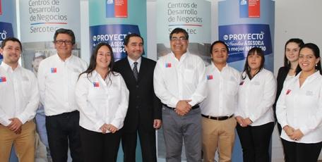 En Santa Cruz se inaugura Centro de Desarrollo de Negocios de la Región del O'Higgins
