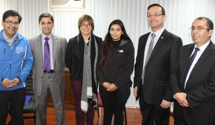 Alumna + Capaz de San Francisco de Mostazal participará de Encuentro Internacional de Jóvenes en Perú