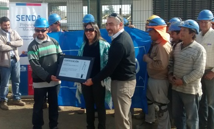 SENDA certifica a Constructora POCURO SPA en Prevención del consumo de droga y alcohol