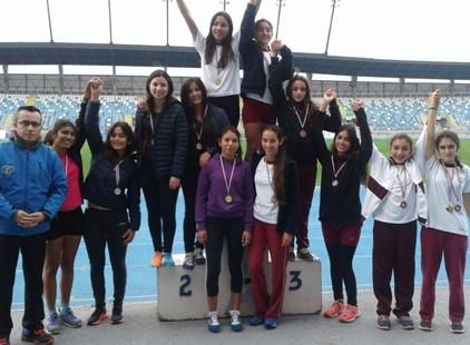 Destacada participación obtuvo la Escuela Municipal de Atletismo de Rancagua en torneo interescolar