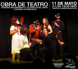 """En grande celebrará el """"Día nacional del Teatro"""" la Casa de La Cultura de Rancagua"""