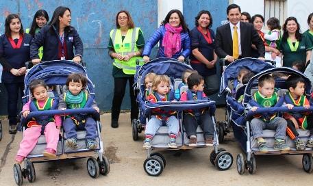 Integra posee carros de evacuación en caso de tsunami y terremoto