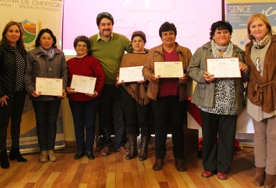 Mujeres rurales de San Fernando y Chépica se capacitaron para mejorar sus emprendimientos