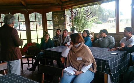 SERNATUR expone plan de marketing del destino Vive O'Higgins a OGD Pueblos de Campo y Mar del Valle de Colchagua