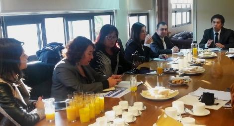 Presidente de la Corte de Rancagua se reúne con medios de comunicación para informar sobre la Ley de Tramitación Electrónica