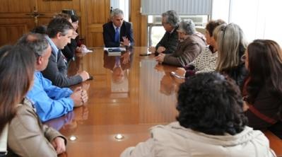 Dirigentes sociales se reúnen con autoridades para abordar conectividad en sector nororiente de Rancagua