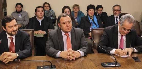 Alcalde Segovia expone conflicto ferroviario ante  la Comisión de Transporte de la Cámara de Diputados