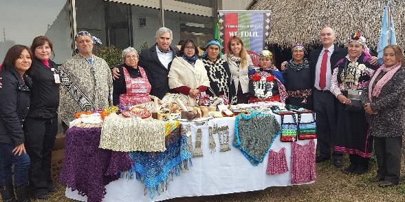 Autoridades regionales lanzaron Concurso Mujer Empresaria Turística 2016 junto a Comunidad Mapuche We Folil Rankawa