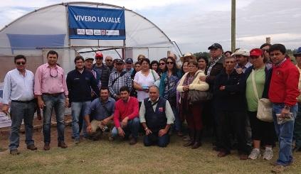 Pequeños agricultores DE Santa Cruz conocieron experiencias de sus pares argentinos