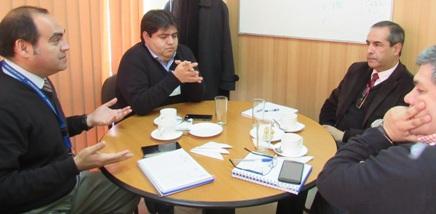 Directores de Hospitales Rengo y San Vicente realizan reunión de Coordinación
