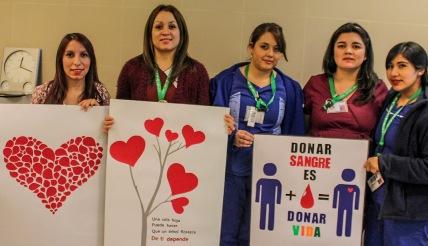 Hospital Regional promueve la donación voluntaria de sangre